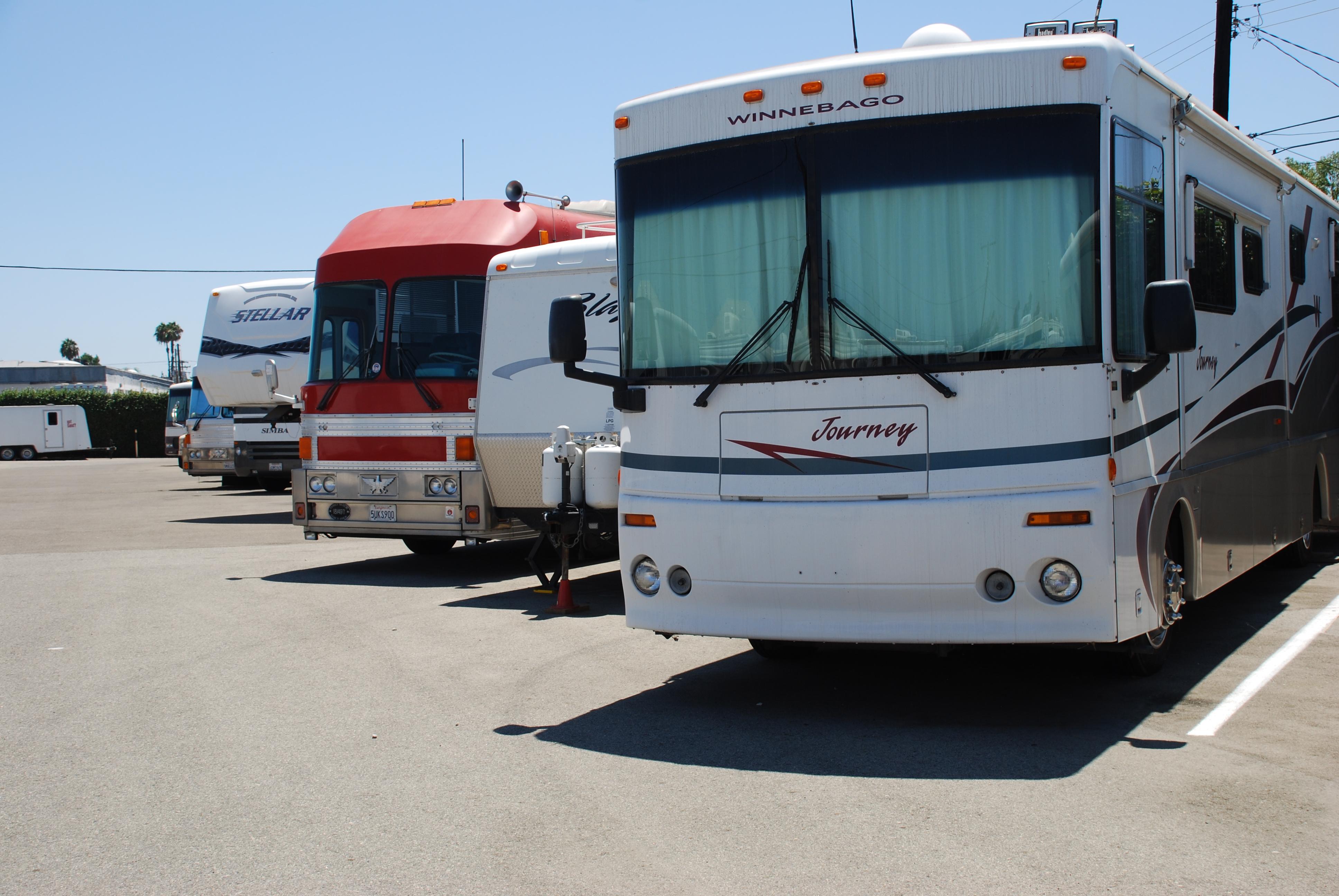 RV Boat Storage Orange County Anaheim California